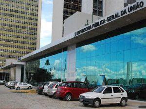 Fachada da Defensoria Pública da União, em Brasília