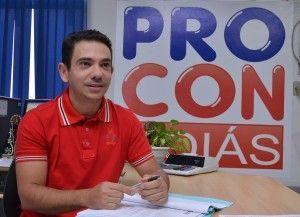 Gleidson Tomaz é gerente de pesquisa e cálculo do Procon Goiás