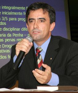 O promotor Haroldo Caetano