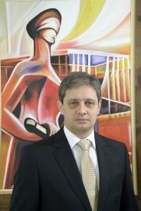 O presidente do IGDP Hallan Rocha