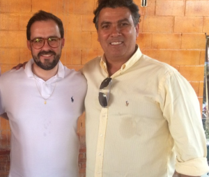 Thales José Jayme (direita)