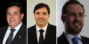 Enil Filho, Flávio Bounduce e Lúcio Flávio lideram as pesquisas encomendadas pelas próprias chapas