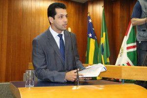 O vereador Thiago Albernaz foi o autor da matéria