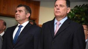 O governador Marconi Perillo prestigiou a posse de Wilton Muller