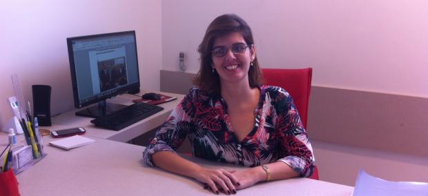 A advogada Carolina Marquez Castro e Silva tem apenas 8% da visão
