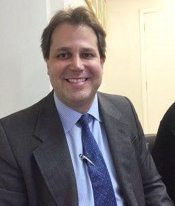 O vice-presidente de Casag, Marcelo Di Rezende