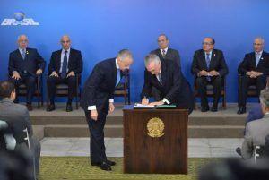 Presidente interino, Michel Temer, sanciona nova lei