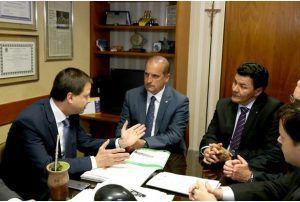 Lamachia se reuniu com relator da matéria