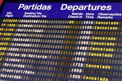 cancelamento de viagem